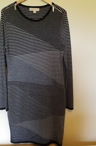 Michael Kors Striped Sweater Dress